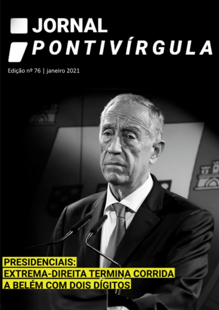 Capa do Jornal Pontivírgula Janeiro 2021