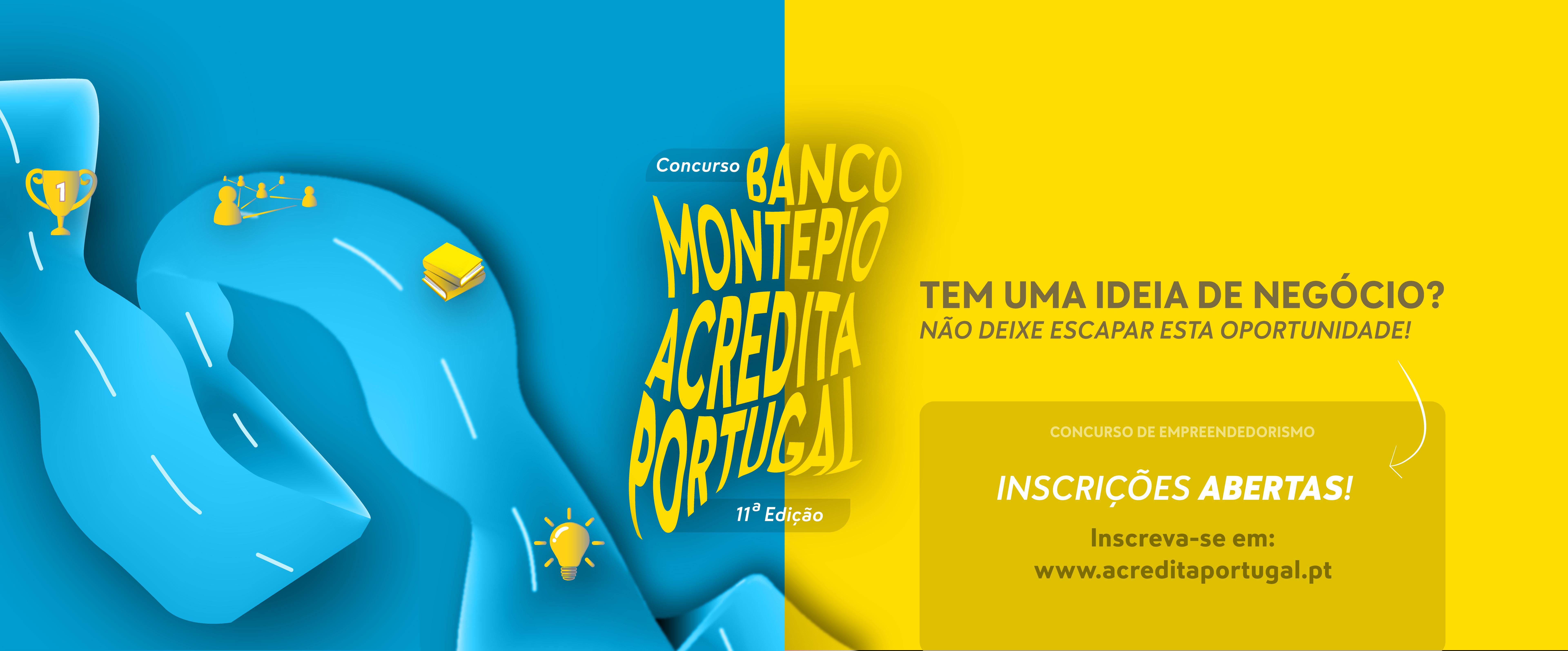 Divulgação Capa Concurso Montepio Acredita Portugal