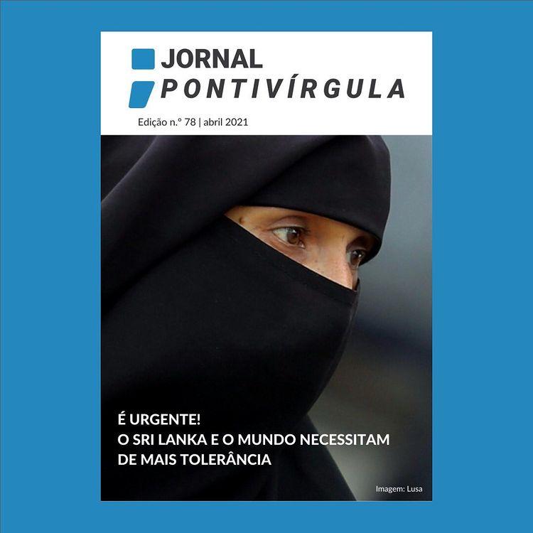Capa Jornal Pontívirgula Abril