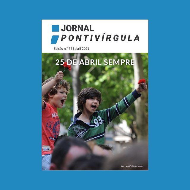 Capa Jornal Pontívirgula 25 de abril