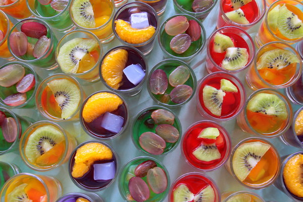 Shots de gelatina que tens de provar