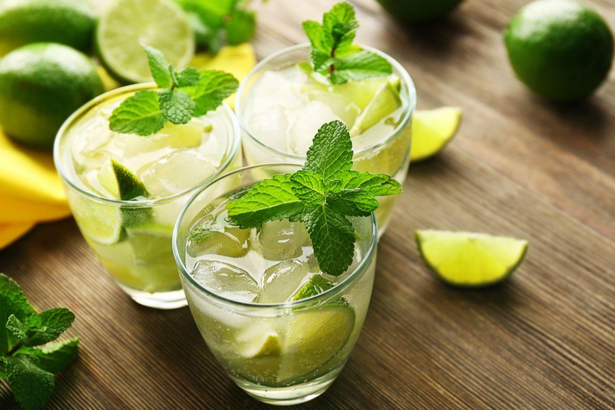 Cocktail de mojito que tens de provar