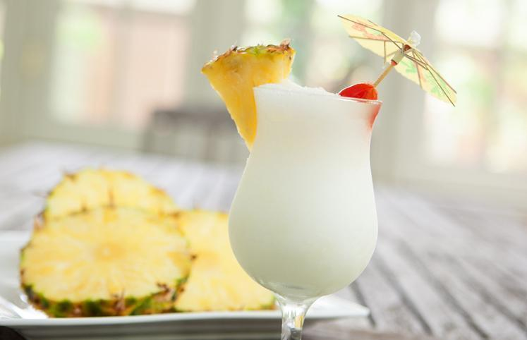 Cocktail de Pinacolada que tens de provar